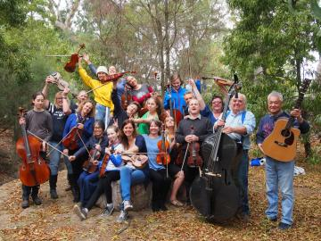 Adelaide Scottish Fiddle Club performing group